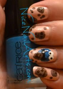 koekiemonster nail art