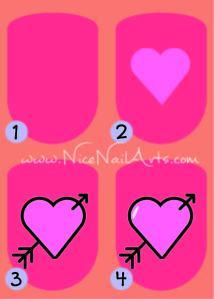 nagels valentijn
