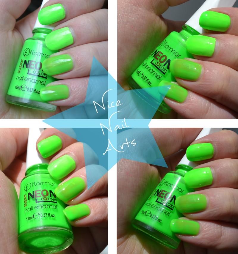 neon groen swatch