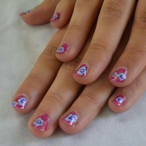 daphne nail art