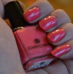 Pieces roze