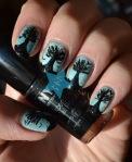 boom tree nail art