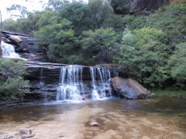 Waterval in de Blue mountains!